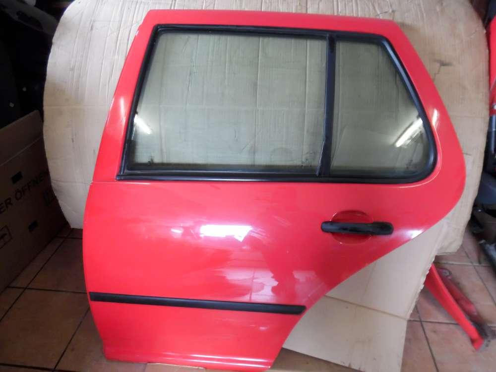 VW Golf 4 Tür Hinten Links Rot Farbcode : LP3G