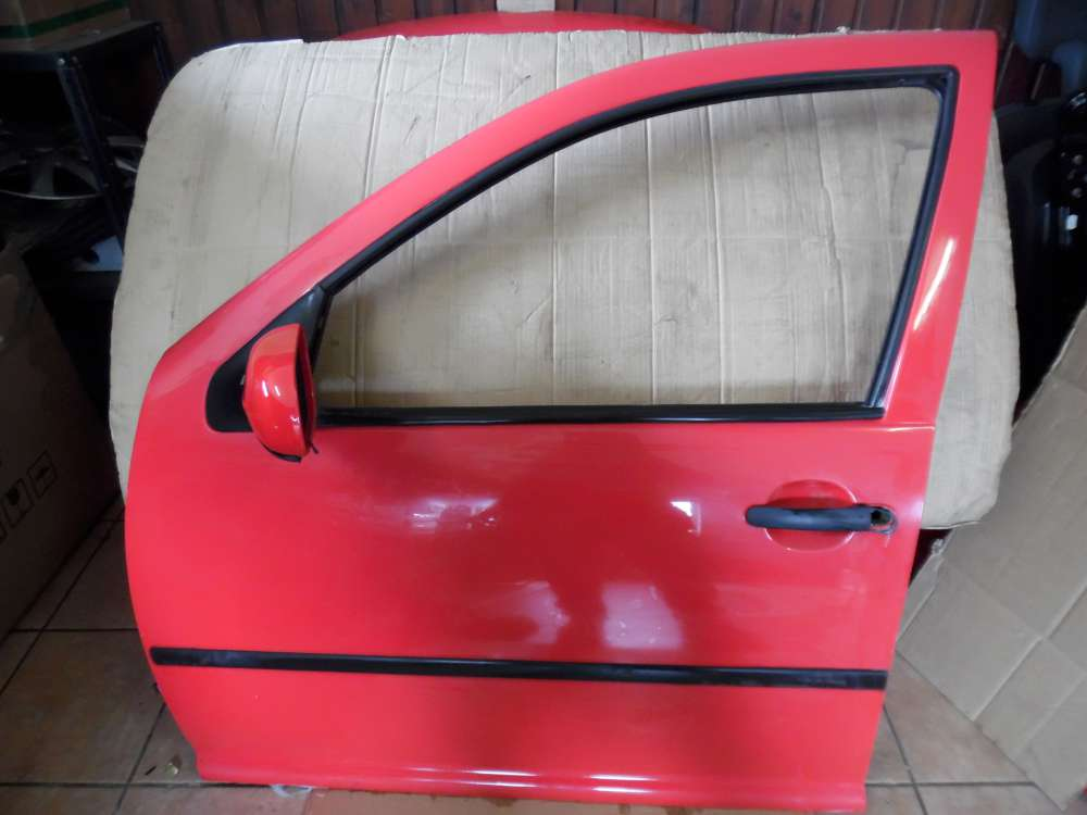 VW Golf 4 Tür Vorne Links Rot Farbcode : LP3G
