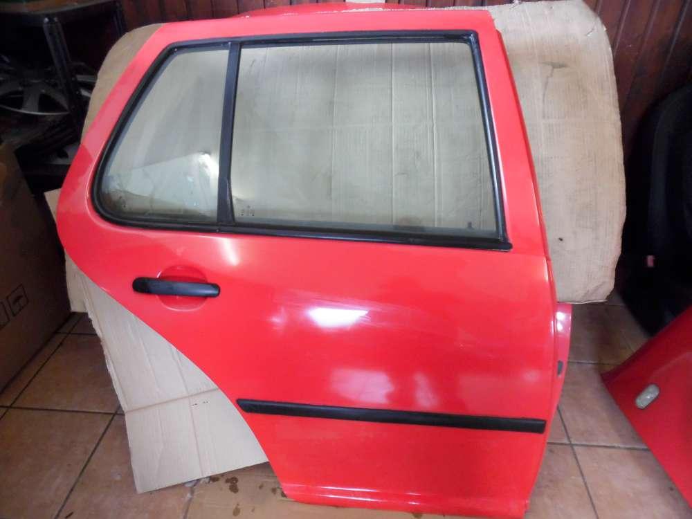 VW Golf 4 Tür Hinten Rechts Rot Farbcode : LP3G