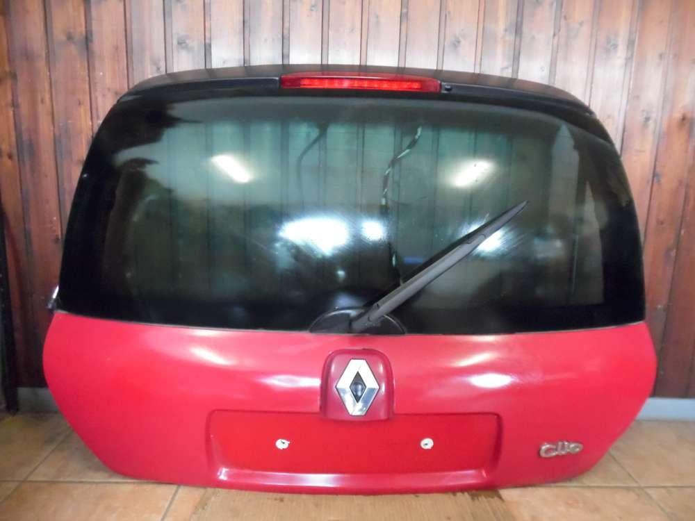 Renault Clio II Heckklappe Kofferraumklappe Rot Farbcode : OV731
