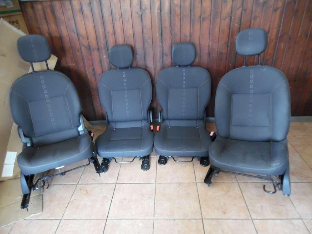 Renault Twingo Sitze Innenausstattung Komplett Stoff grau