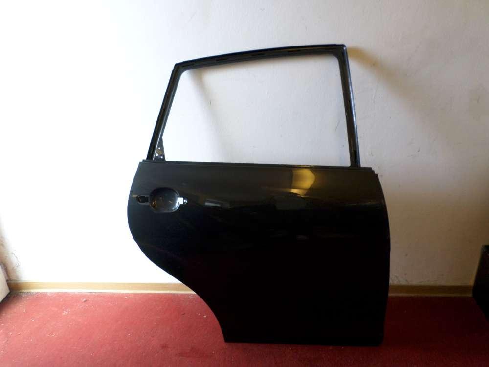 Seat Altea Tür hinten rechts Schwarz Grün (Anthrazit)