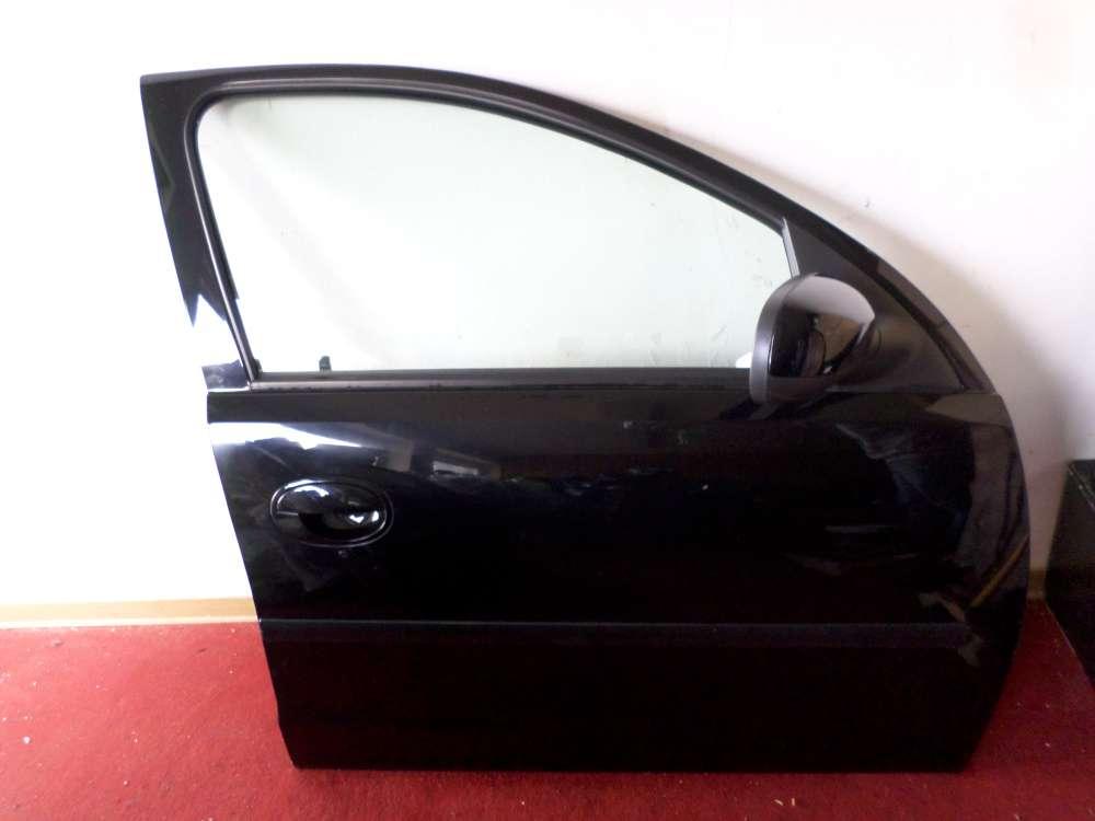 Opel Corsa C F08, F68 Bj 2004 5 Türen Beifahrertür Tür vorne rechts Farbe: Schwarz metallic
