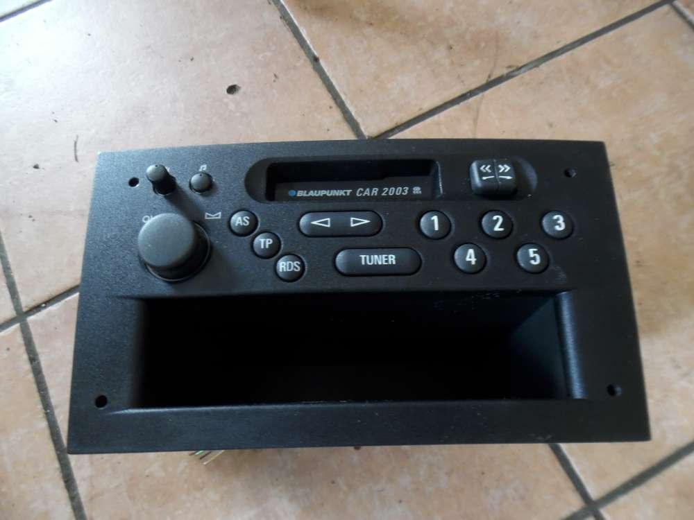 Opel Agila A Autoradio Kassetten Radio Blaupunkt 24434773 CAR2003 (F)