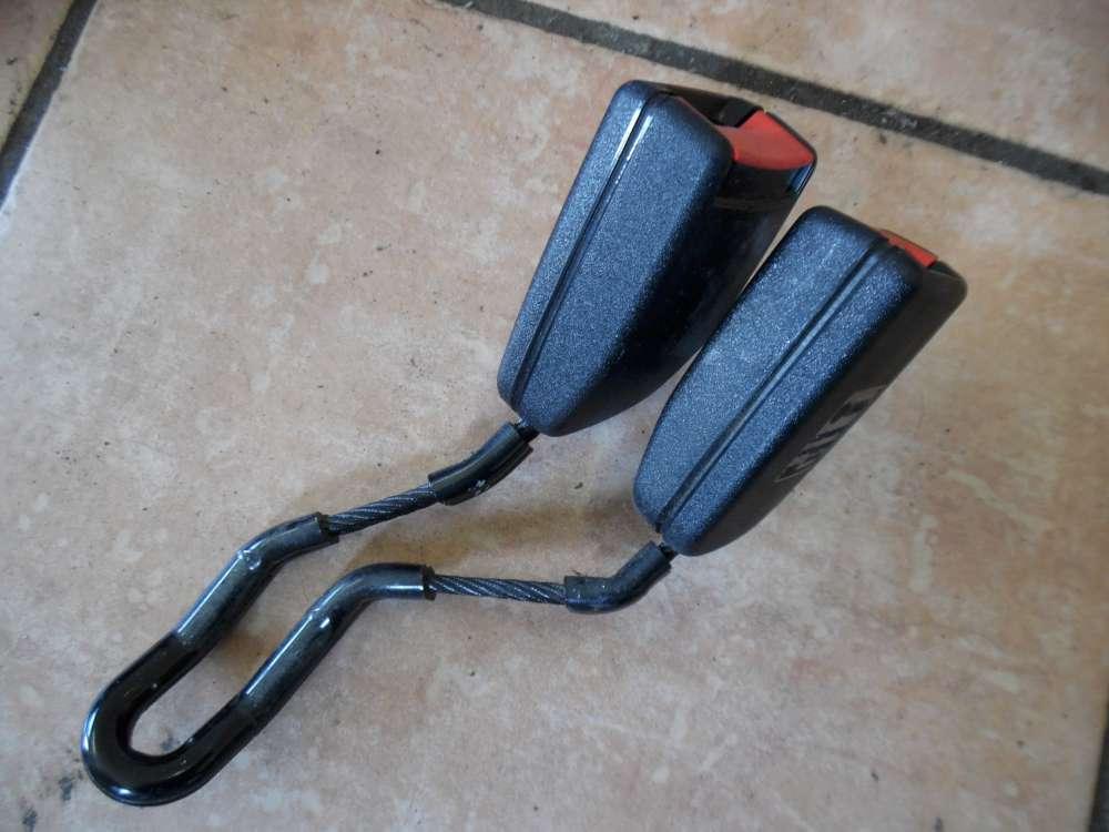 VW Golf 4 Gurtschloß Sicherheitsgurt Hinten mitte 1J0857488