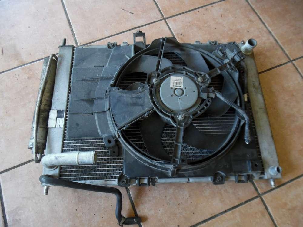 Nissan Micra K12 Lüftermotor Kühlerlüfter mit Wasserkühler 21481AX610 21400-AX601