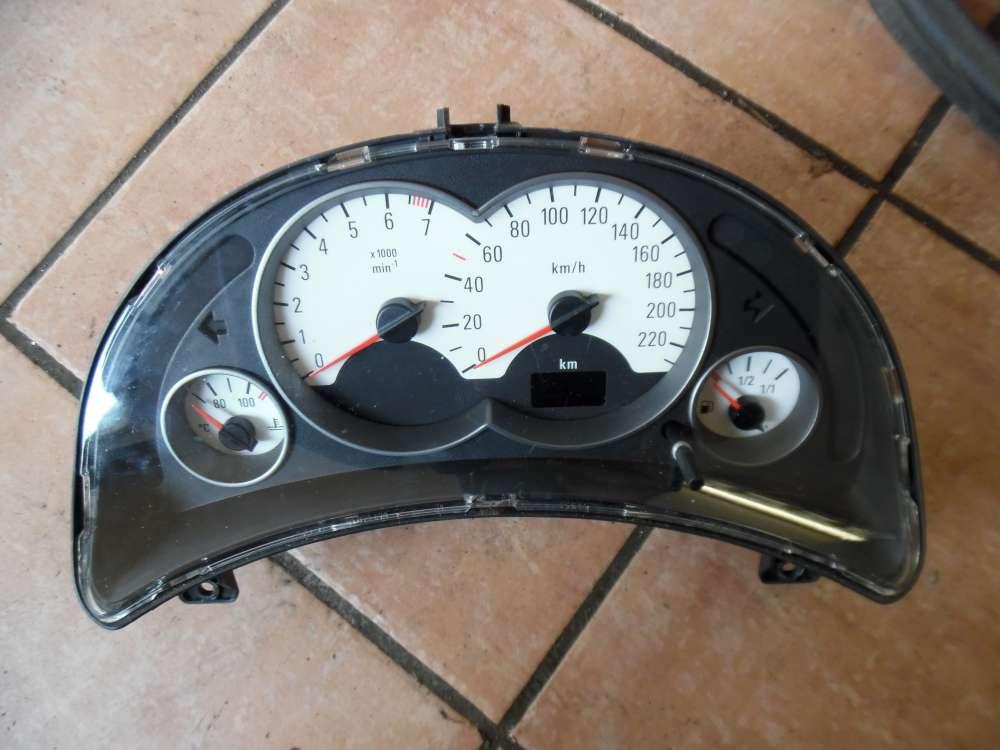 Opel Corsa C Tacho Kombiinstrument 140389KM 09166823FW