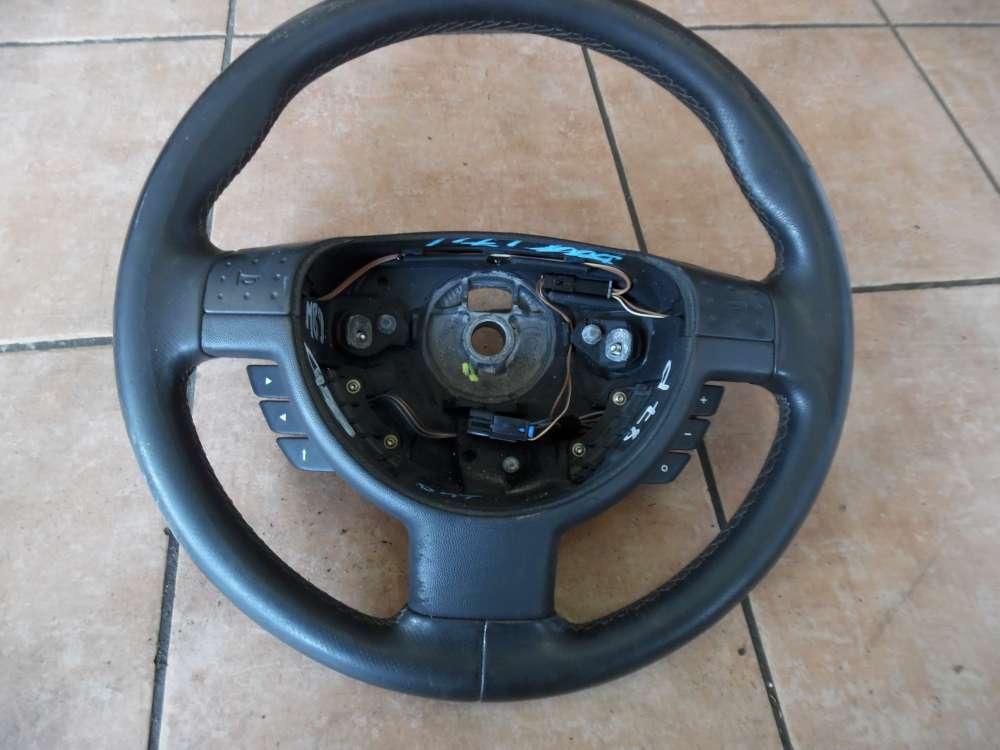 Opel Corsa C Lederlenkrad Lenkradfernbedienung 9191942
