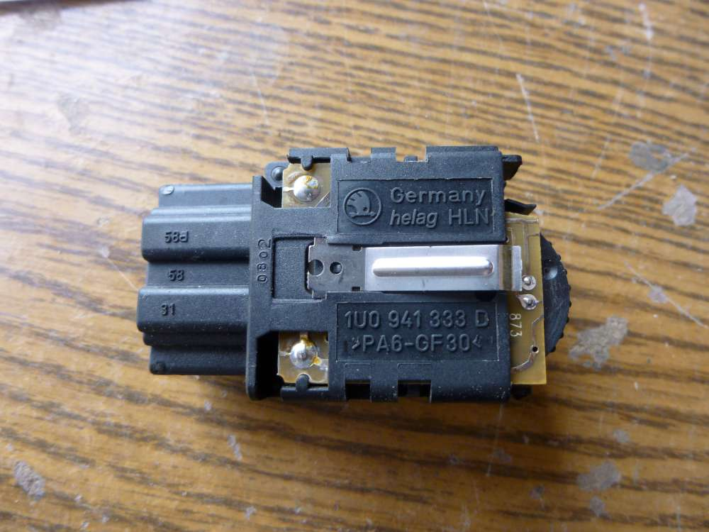 Skoda Octavia Bj 2002 Schalter Leuchtweitenregulierung 1U0 941 333 D / 1U0941333