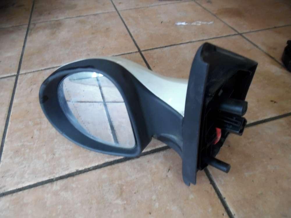 Renault Twingo Außenspiegel Spiegel Elektrisch Links Weiß : OV369