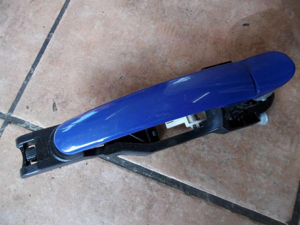 Seat Ibiza 6L Türgriff Außer Hinten Links Blau Farbcode: LS5G