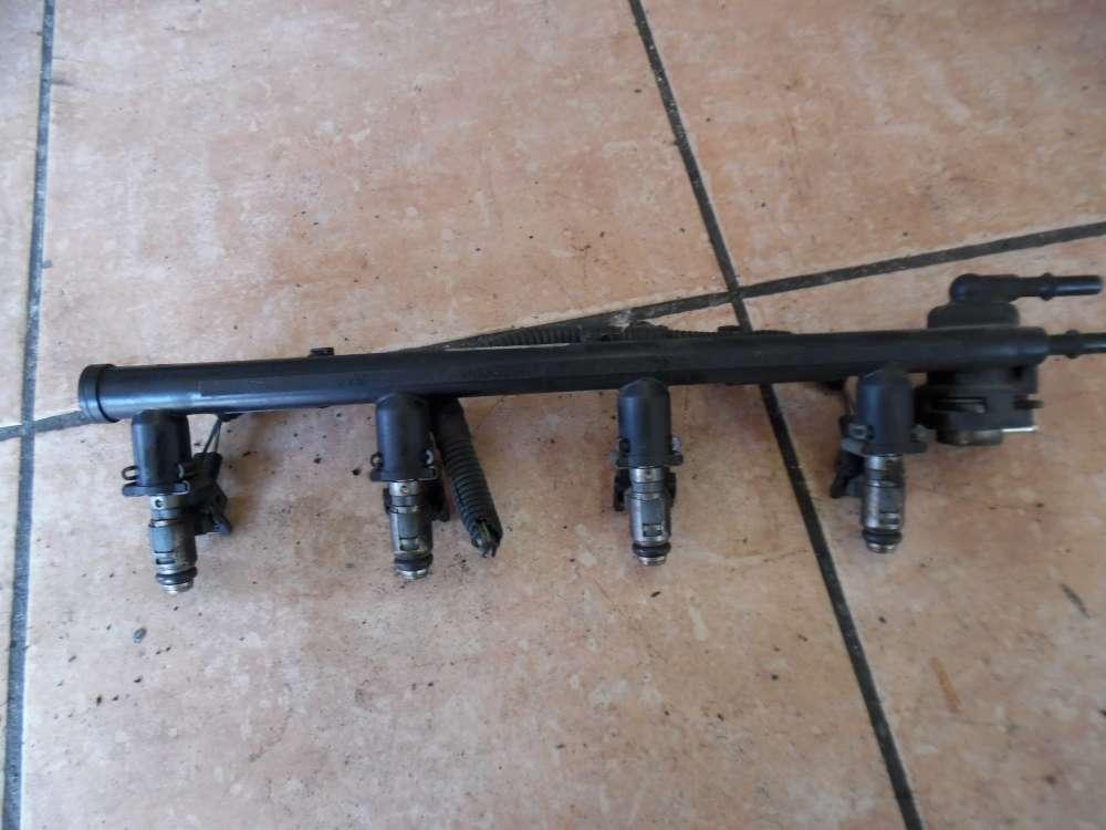 Ford Fiesta V Einspritzleiste mit Einspritzdüse 2N1U-9D280-CA