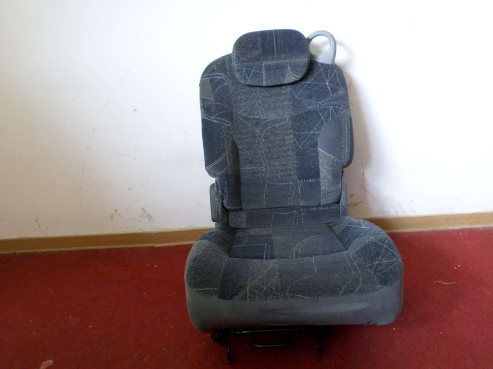 Original Renault Scenic Megane Bj.1999 Autositze Sitze Hinten Links blau