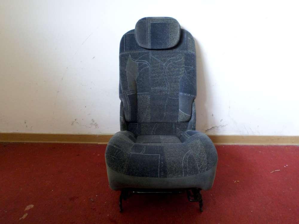 Renault Scenic Megane  Bj.1999 Original Autositze Sitze Hinten Mitte blau