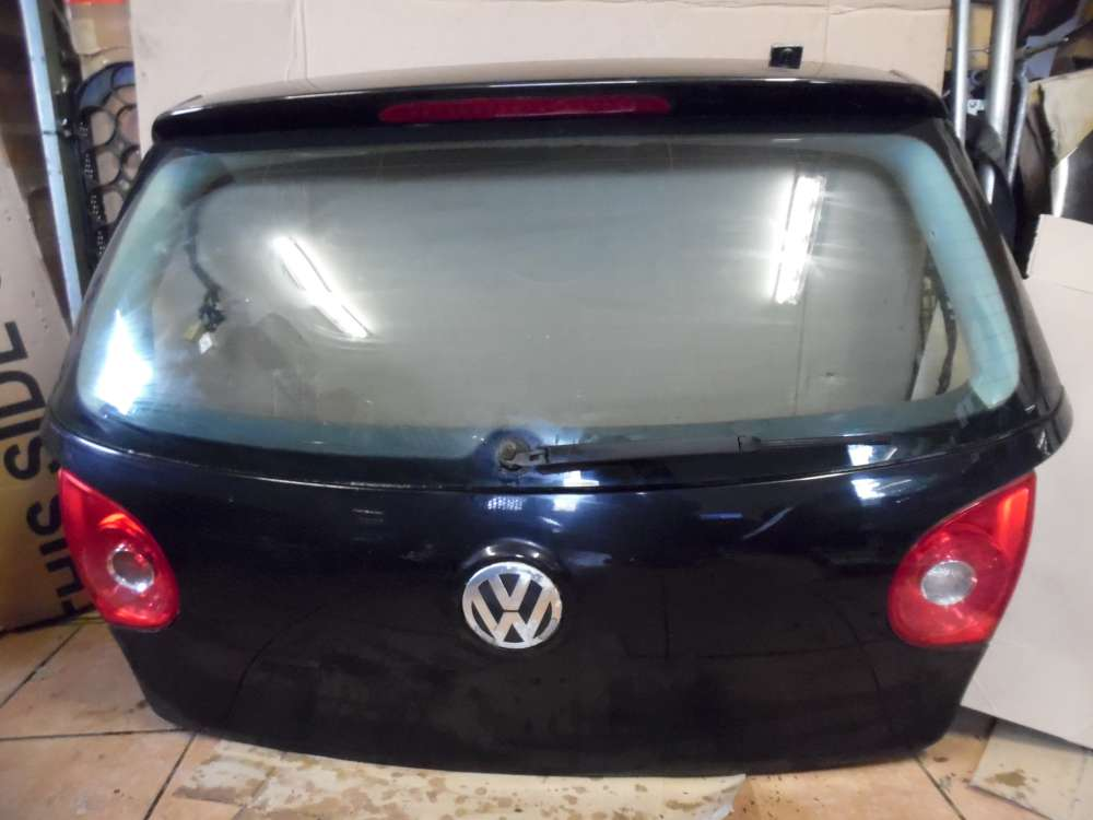 VW Golf V 3-Türer Heckklappe Kofferraum Schwarz Farbcode : LC9Z