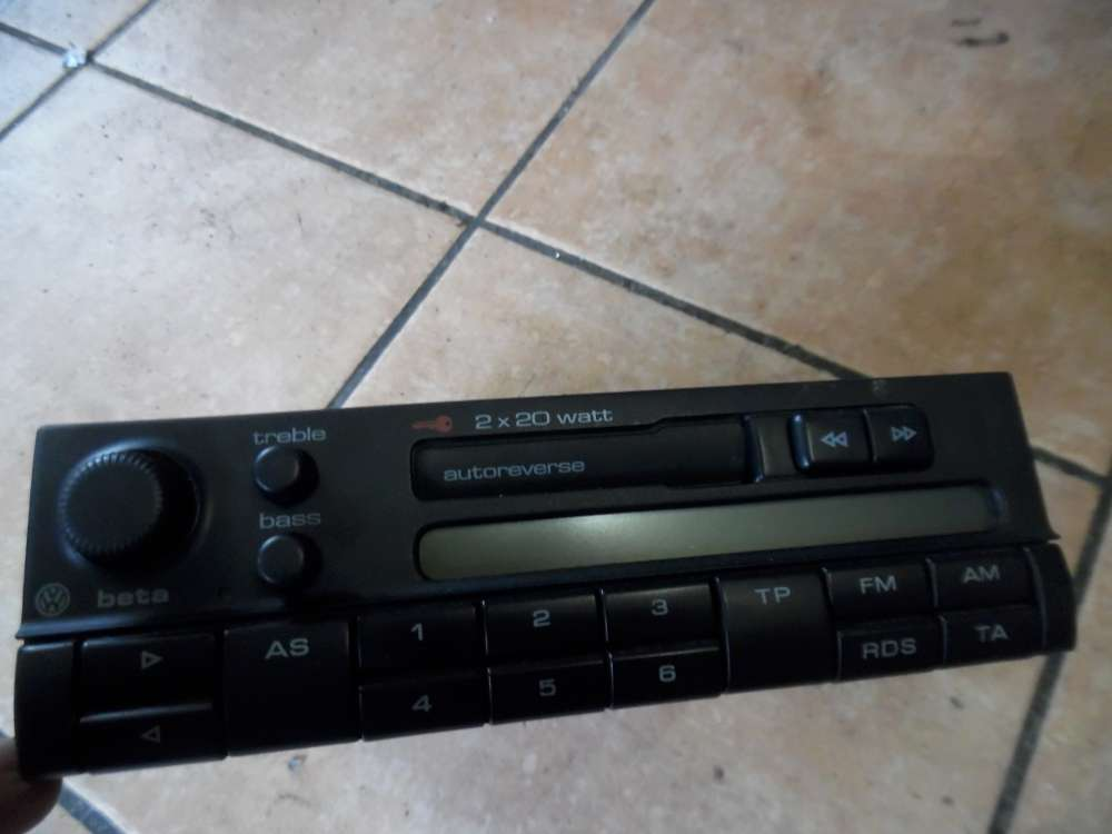 VW Passat 3B Radio Kassette 3B0035152A