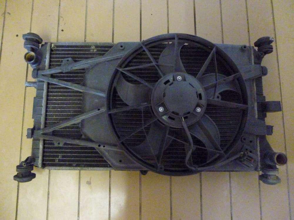 Ford Focus I Lüftermotor Wasserkühler Kühler 98AW-8K160-DE