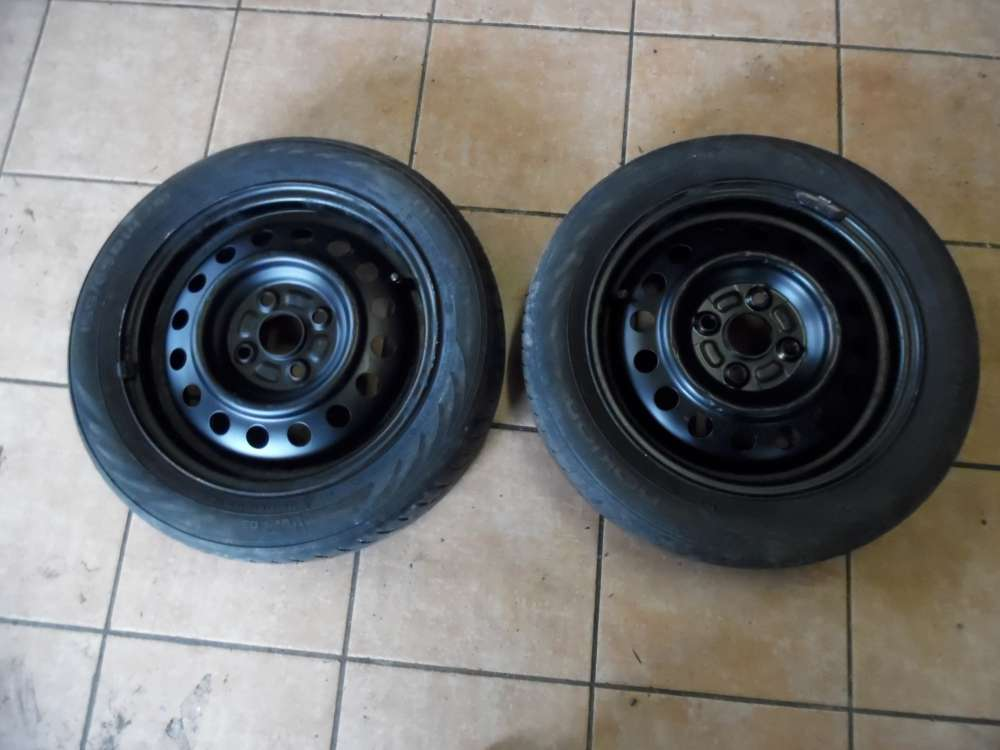 2x Stahlfelge für Nissan Pixo 14X 4.1/2J ( ohne Reifen )