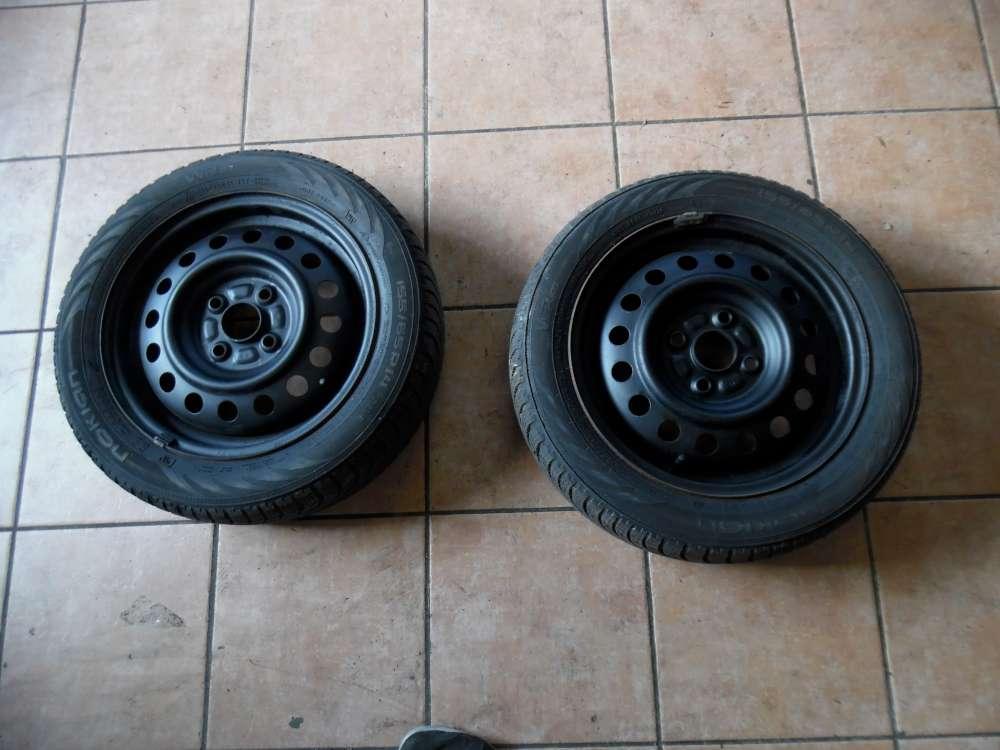 2x Stahlfelge mit Reifen Winter Nokian für Nissan Pixo 155/65 R14 75T 14X 4.1/2J  KBA 43736