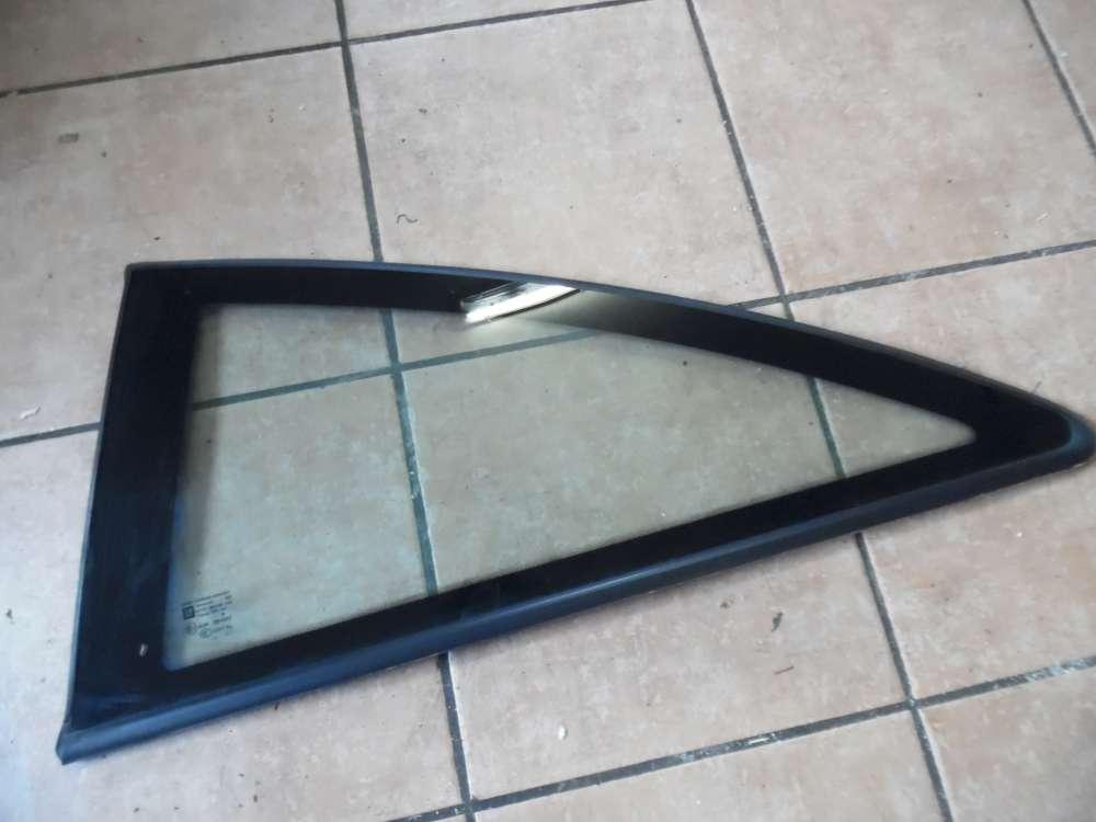 Opel Corsa D 3-Türer Seitenscheibe Fensterscheibe Hinten Links 13188508