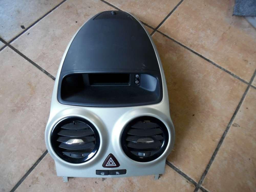 Opel Corsa D Mittelkonsole, Warnblinkschalter, Luftdüse Bordcomputer Display 13255824