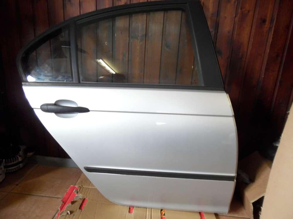 BMW 3-er E46 Limousine Tür Hinten Rechts Titansilber 354/7