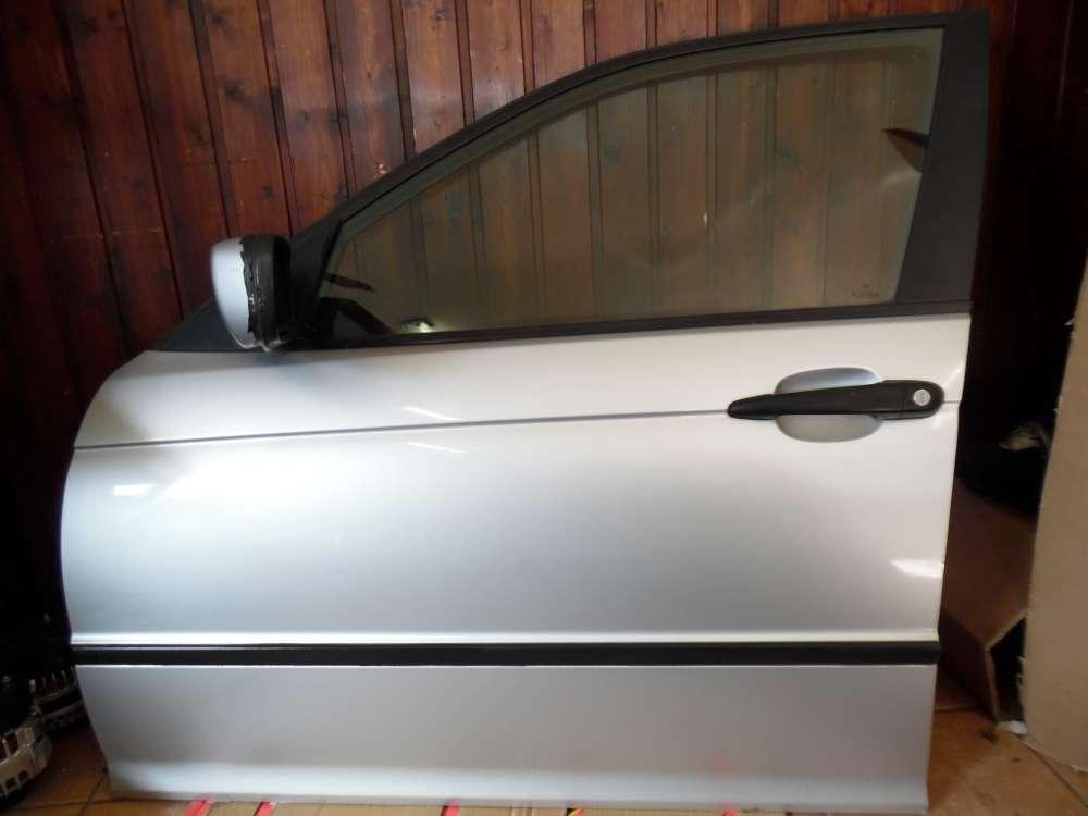 BMW 3-er E46 Limousine Tür Vorne Links Titansilber 354/7