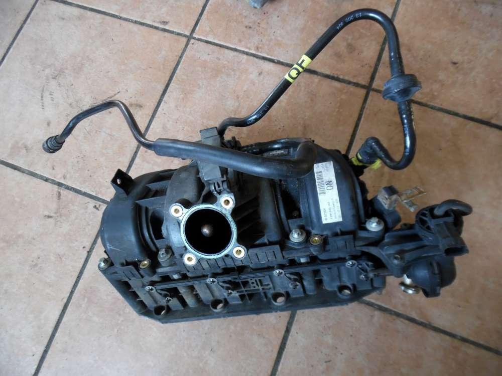 Opel Corsa D Ansaugbrücke Ansaugkrümmer mit ventil 55557906 1928498092