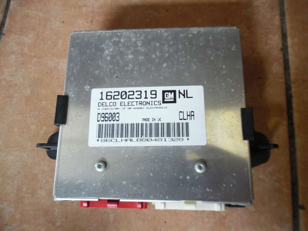 Opel Vectra B Motorsteuergerät 16202319, D96003 CLHA