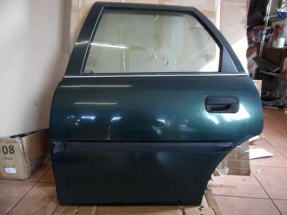 Opel Vectra B Tür Hinten Links grün Farbcod : 359