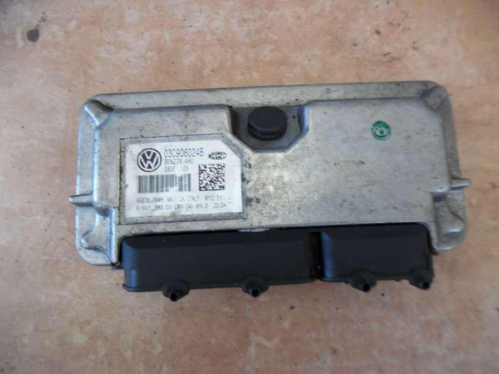 Skoda Fabia II Steuergerät Einspritzung 03C906024B