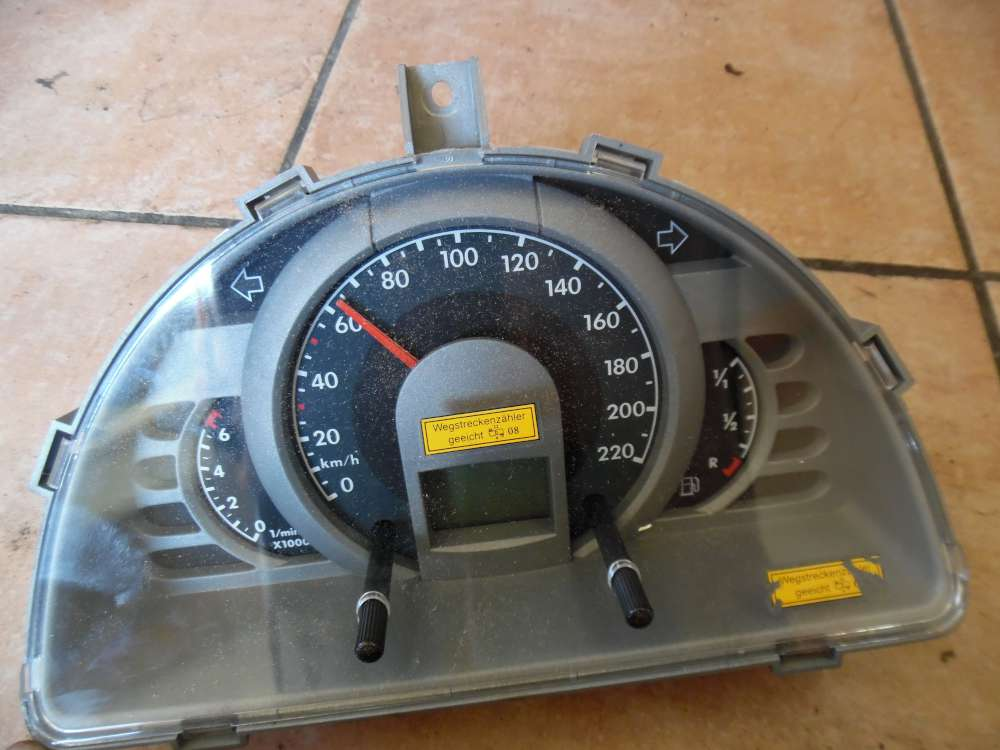 VW Fox 5Z Tacho Kombiinstrument 163868KM 5Z0920820N