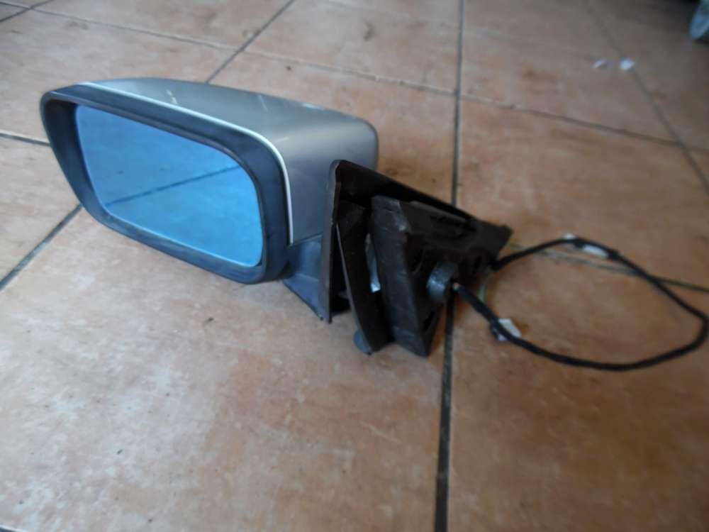 BMW 3er E46 Außenspiegel Spiegel Vorne Links silber Farbecod:354