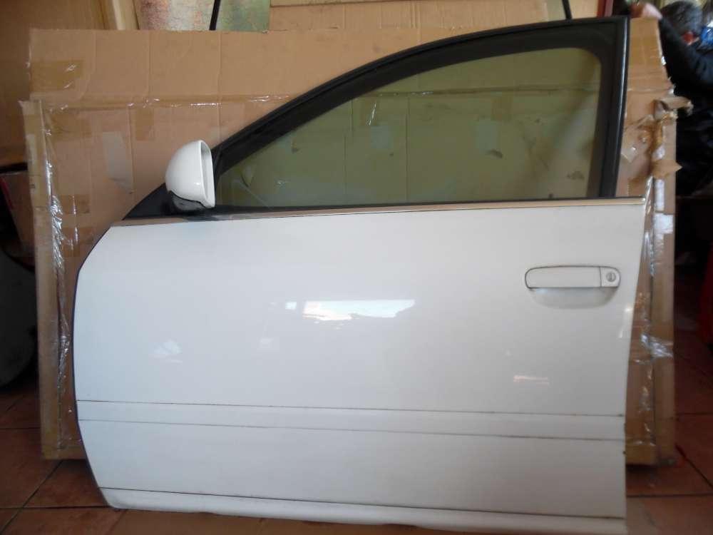 Audi A6 4B Kombi Tür Vorne Links weiß Farbcod : LY9D