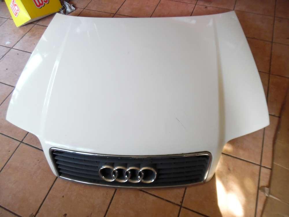 Audi A6 4B Kombi Motorhaube weiß Farbcod : LY9D
