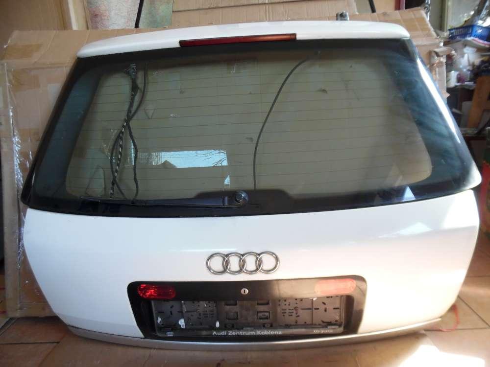 Audi A6 4B Kombi Heckklappe Heckdeckel weiß Farbcod : LY9D