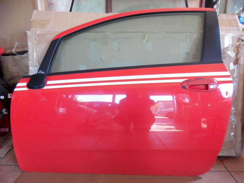 Fiat Punto 199 3-Türer Tür Vorne Links Rot Farbcod : 176/A