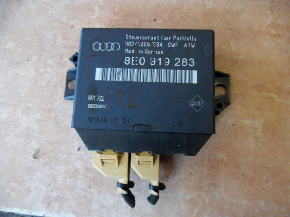 Audi A6 4B Einparkhilfe PDC Steuergerät 8E0919283E
