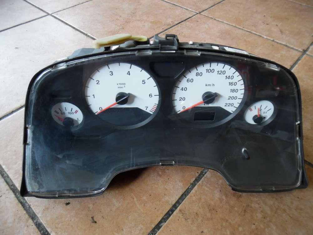 Opel Zafira A Tachometer Kombiinstrument 09228776GK
