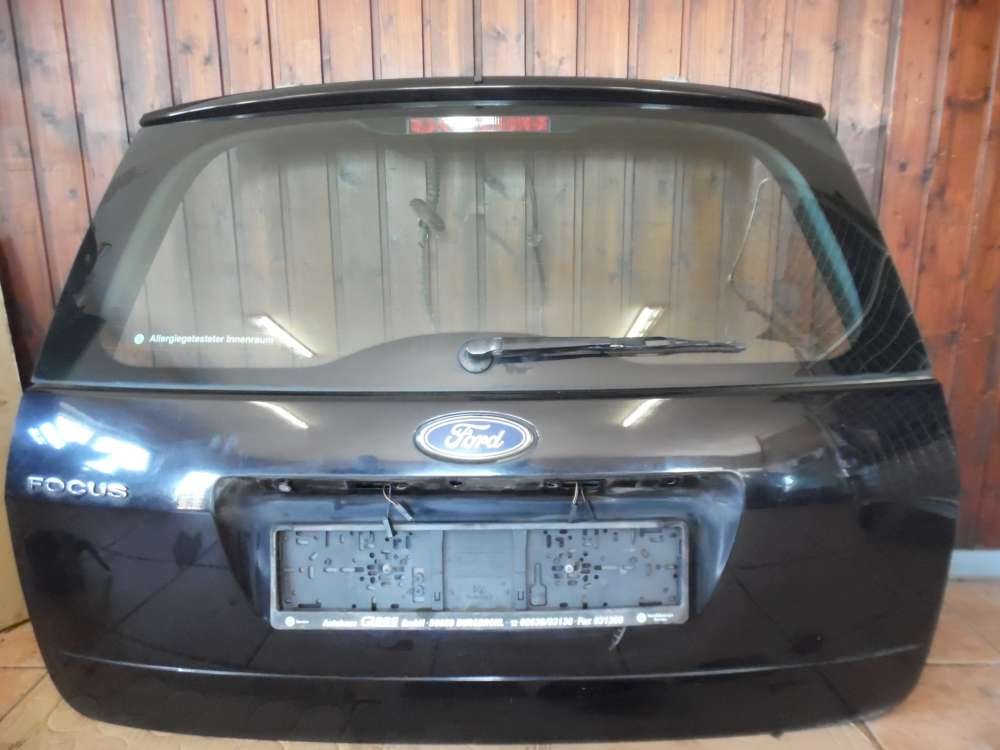 Ford Focus II 5-Türer Heckklappe Heckdeckel schwarz