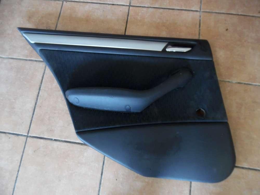 BMW 3er E46 Türverkleidung Türpappe Hinten Links 8213919