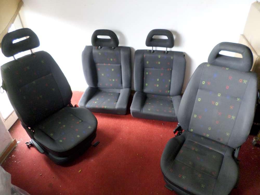 Original Seat Arosa Bj.2000 Sitze Komplett Fahrersitz vorne rechts Rücksitzbank