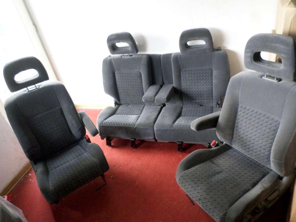 Honda CR-V Orginal Sitze Sitzgarnitur Komplett Fahrersitz Vorne +hinten Bj 2000
