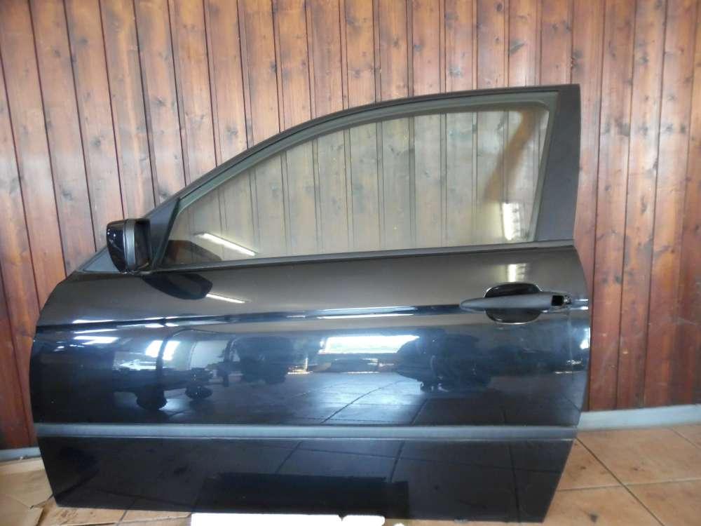 BMW 3er E46 316ti Compact Tür Vorne Links schwarz Farbcod : 475/9