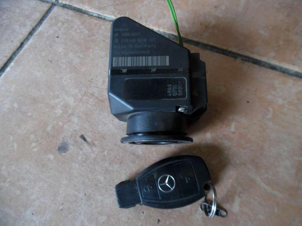 Mercedes-Benz C-Klasse W202 Zündschloss Zündung mit Schlüssel Fernbedienung 2105450008