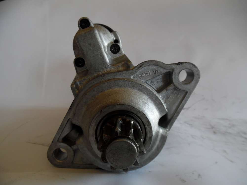Anlasser Starter Audi, Seat, Skoda, VW 02E911023H Bosch 0001123016