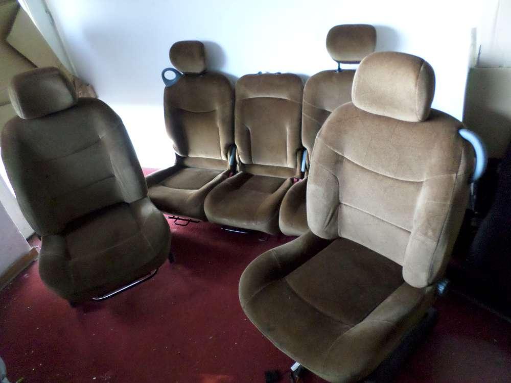 Renault Scenic ab Bj.1999 Sitze Komplett Fahrersitz Beifahrersitz Rücksitzbank