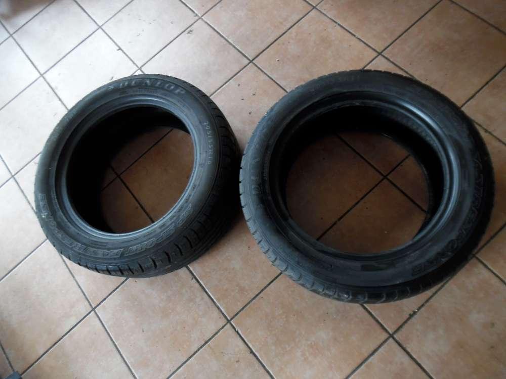 2 x Sommer Reifen Dunlop 205/55R16 91W