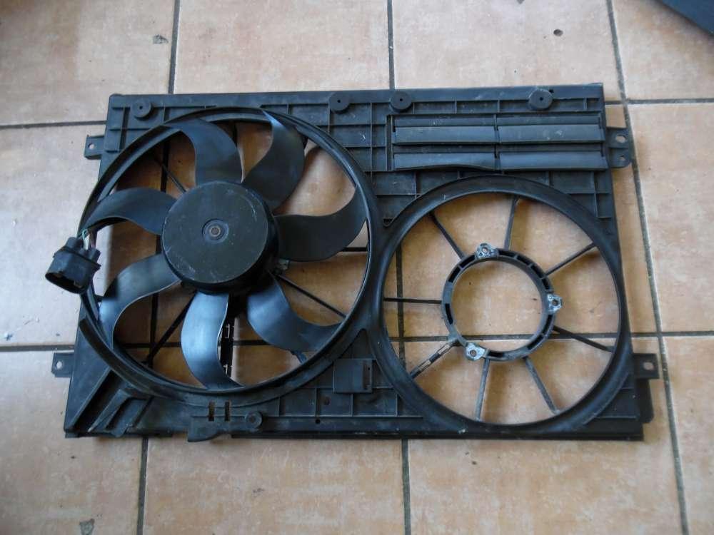 VW Passat 3C5 Motorlüfter Elektrolüfter 1x Lüfter 1K0121207BC