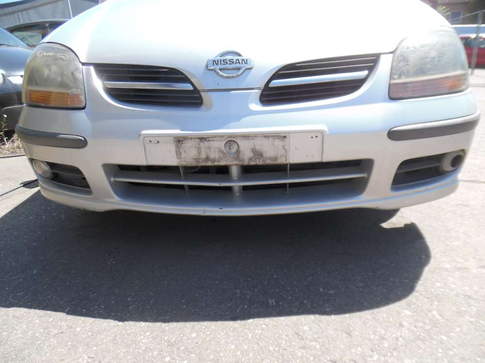 Nissan Almera Tino Stoßstange Vorne silber Farbcod : KL0